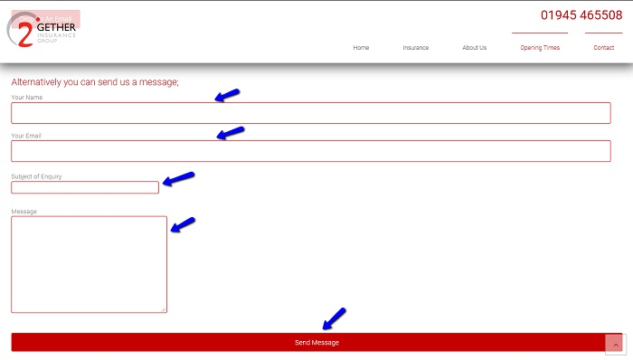 2Gether_Insurance_online_message_form