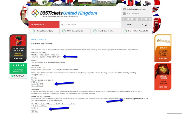 365_Tickets_Contact_Information