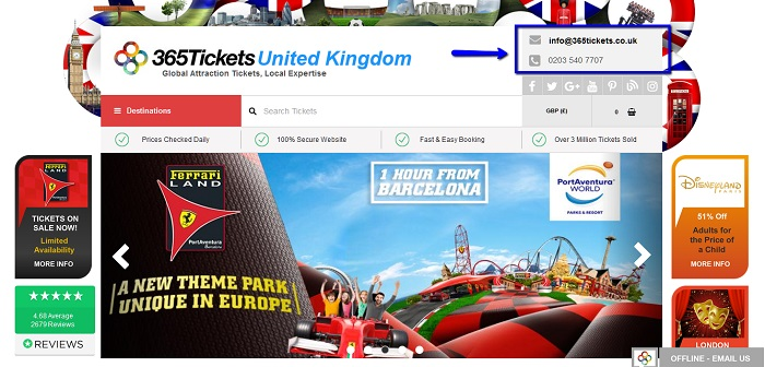 365_Tickets_customer_service_contact_number