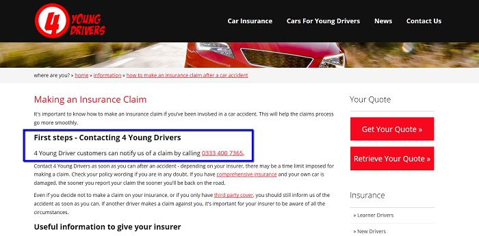 4_Young_Drivers_Insurance_claims_contact_number