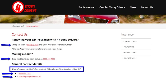 4_Young_Drivers_Insurance_customer_service_contact_number