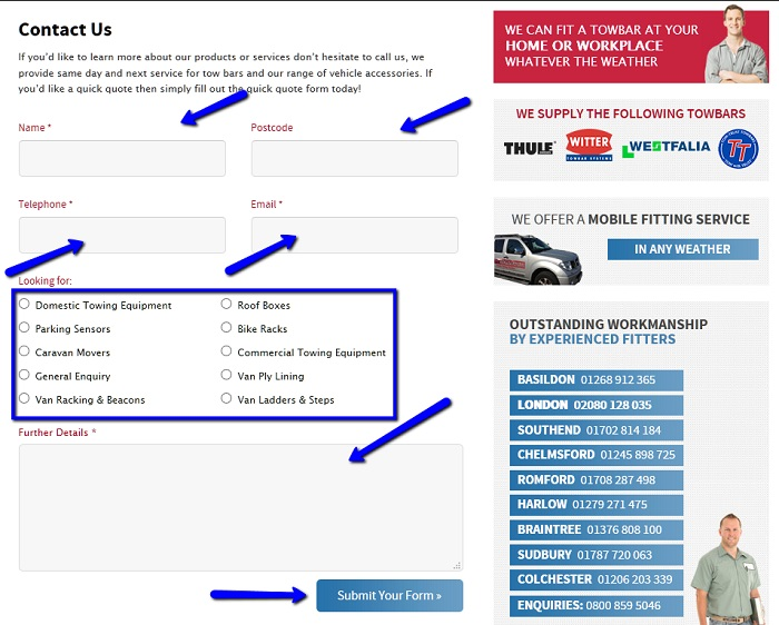 A&S_Towbars_Online_Message_Form