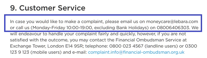 Lebara_Money_Complaints_Free_Number