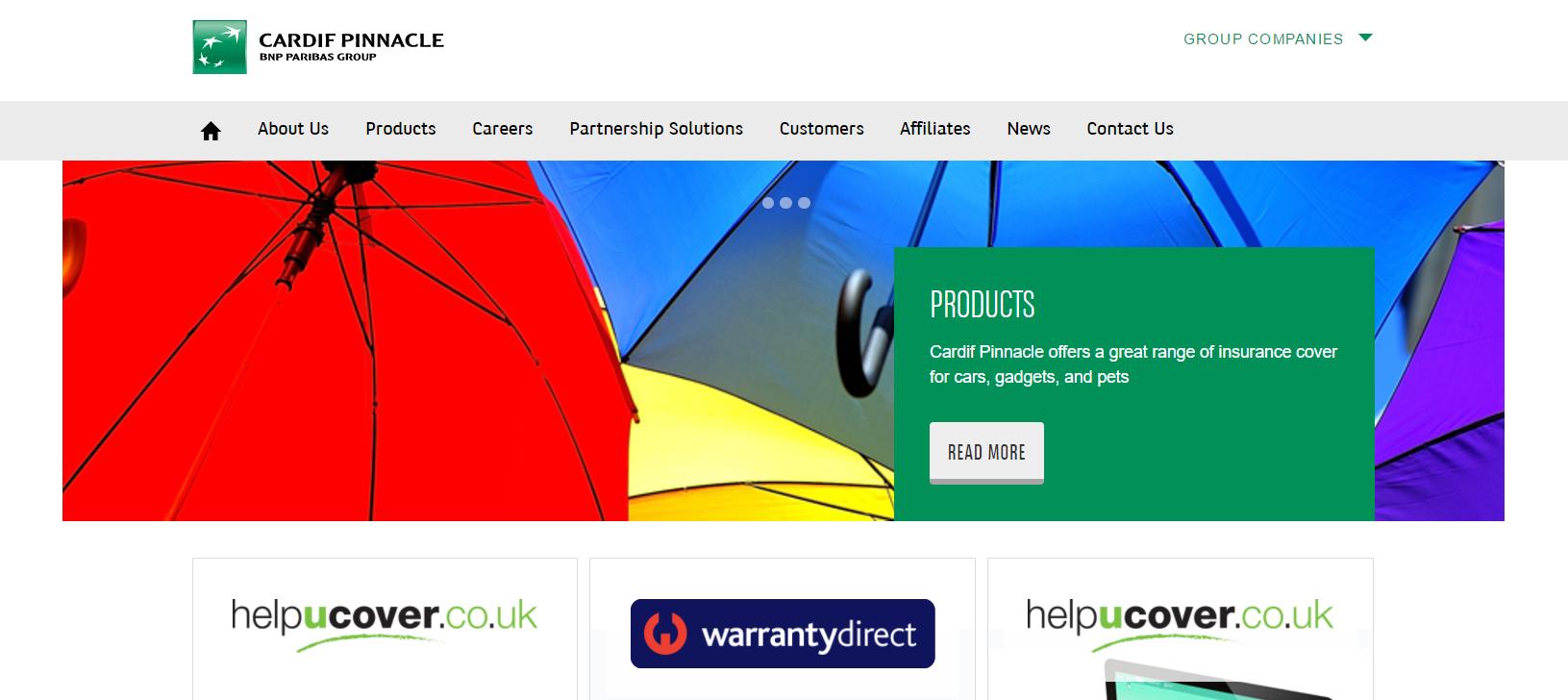 cardif homepage