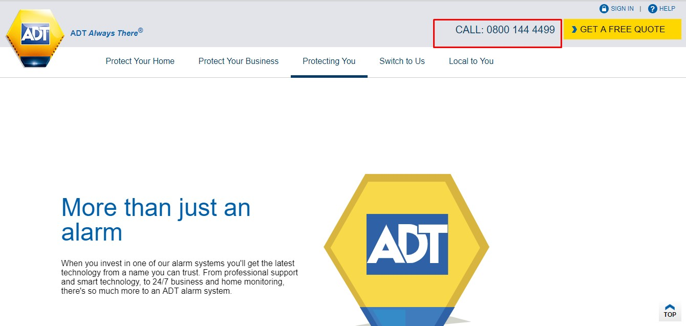 Adt Customer Service Number Posted On 11th March 2018 Full Size